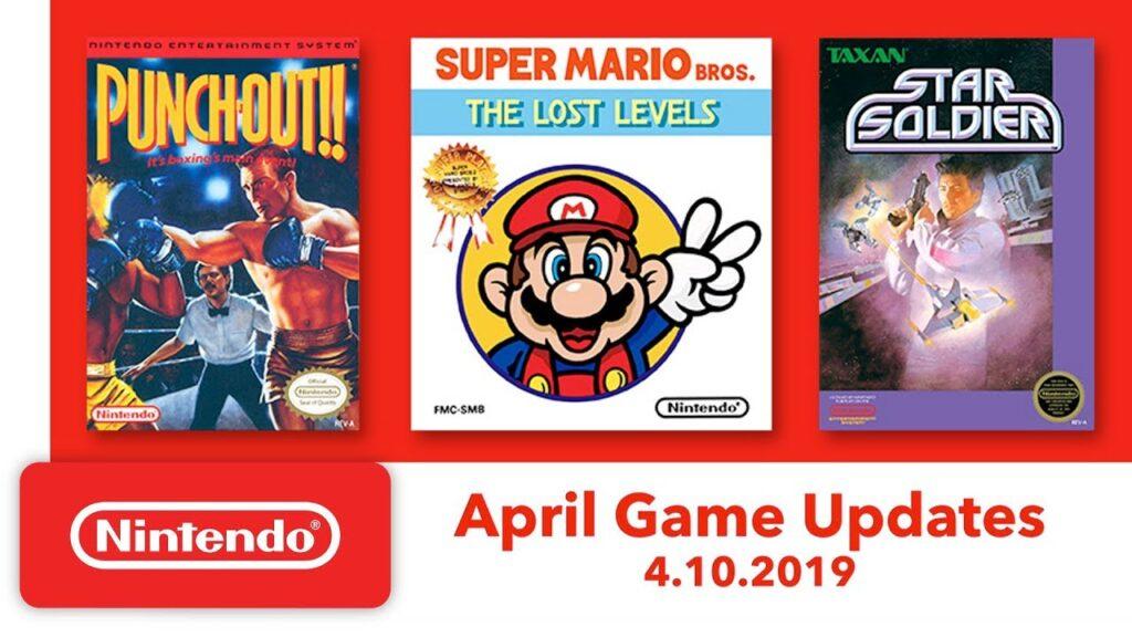 April Game Updates