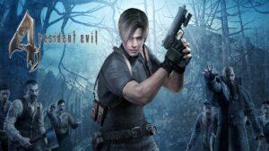 Resident Evil 4 Nintendo Switch no giroscopi