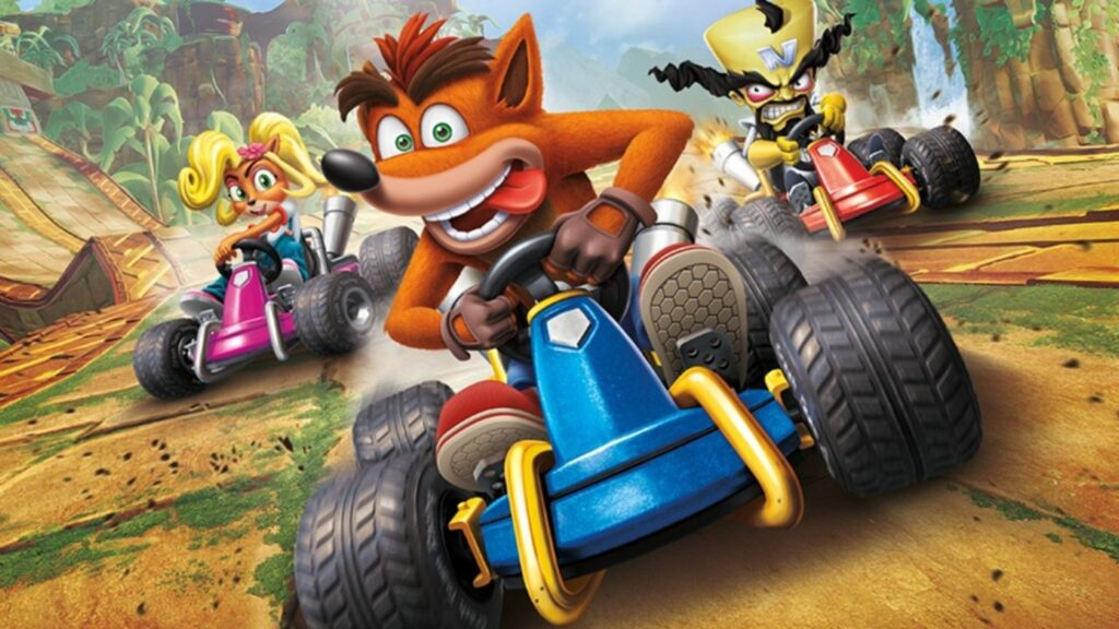 Crash Team Racing Nitro-Fueled NintendOn videoconfronto PS4