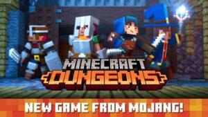 Minecraft Dungeons Nintendo Switch NintendOn