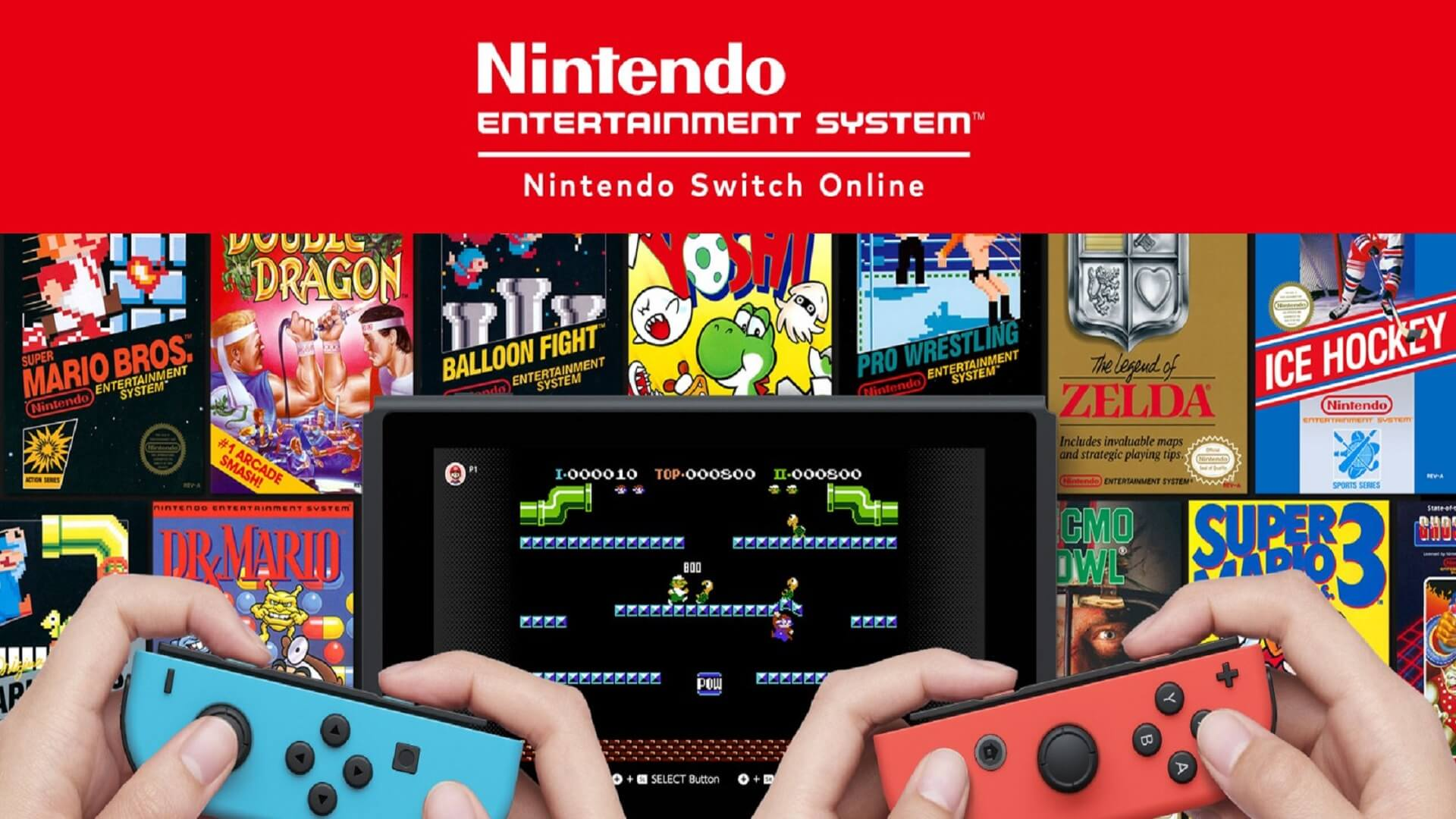 Nintendo Switch Online NES NintendOn