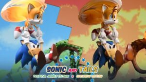 Sonic & Tails Resin Statue