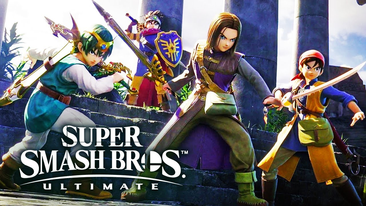 Hero joins Smash Bros.
