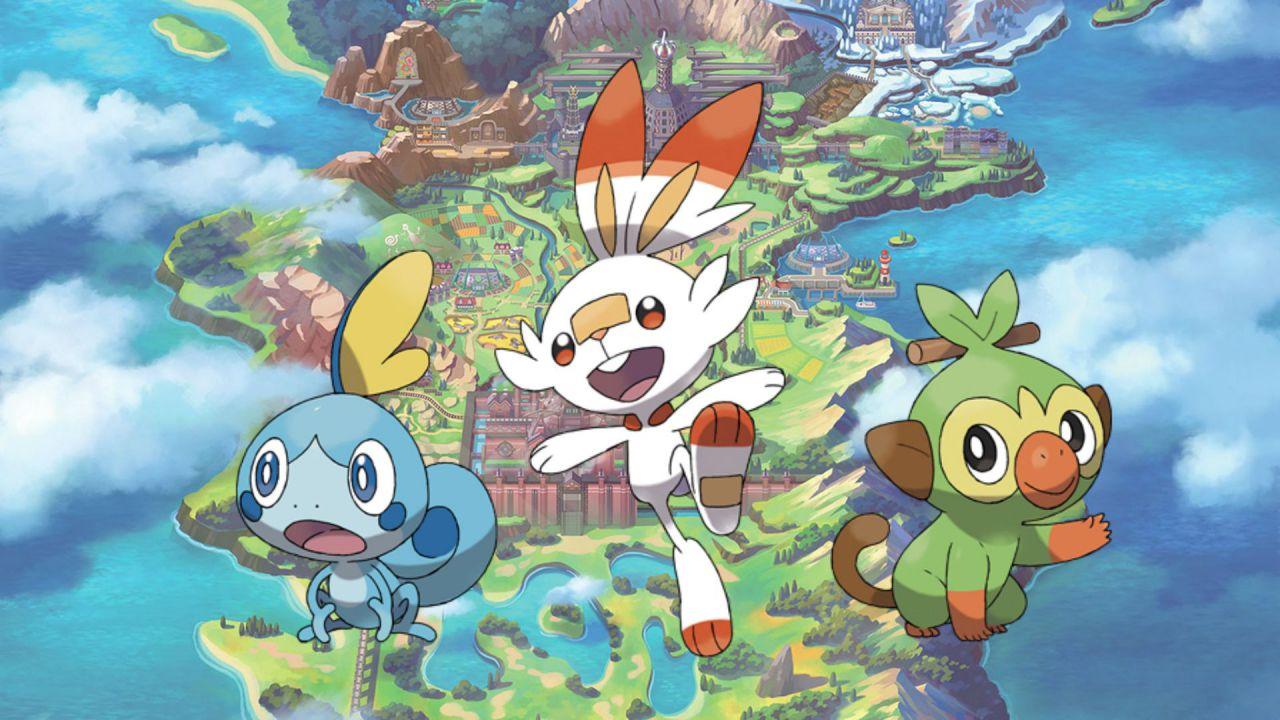 Pokémon Spada e Scudo Leak