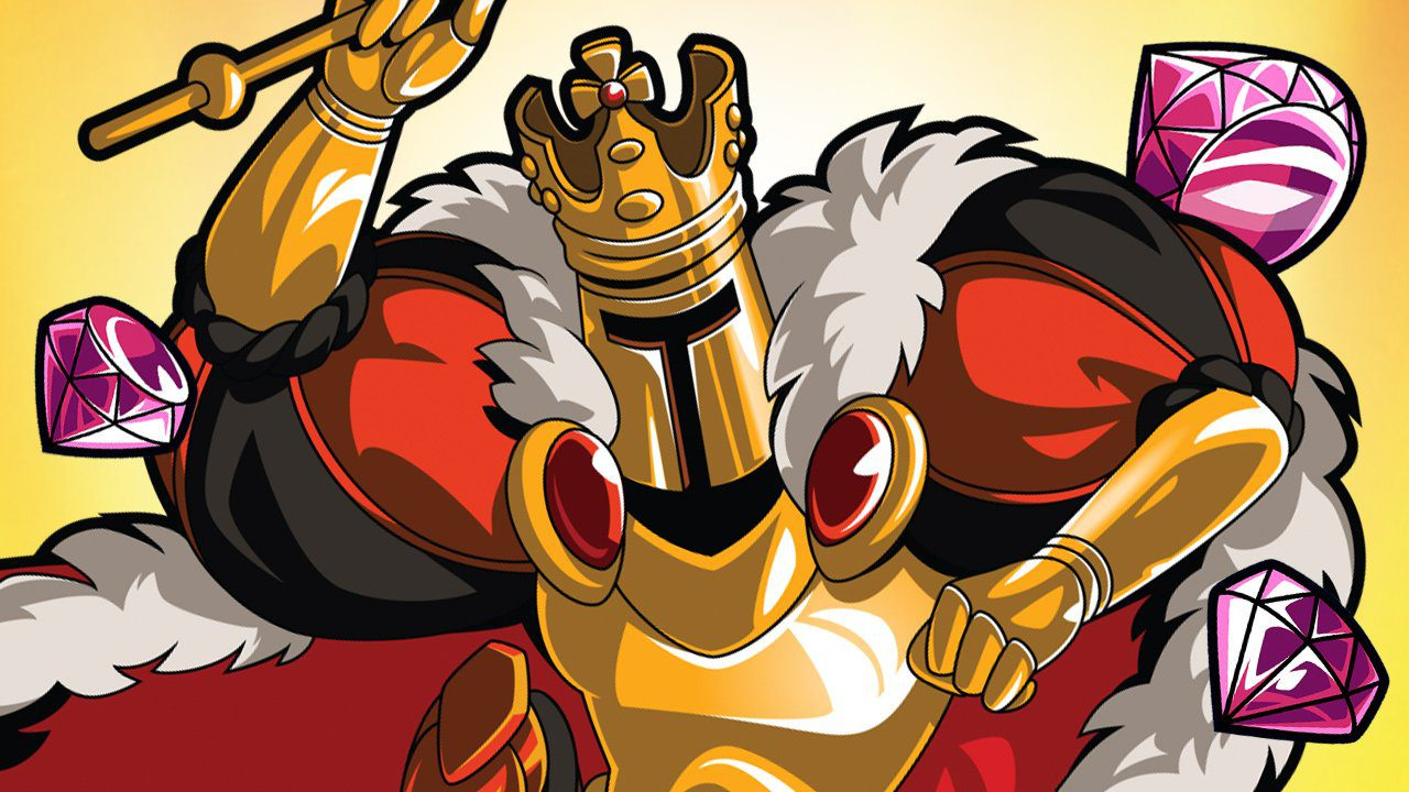 Shovel Knight King of Cards release