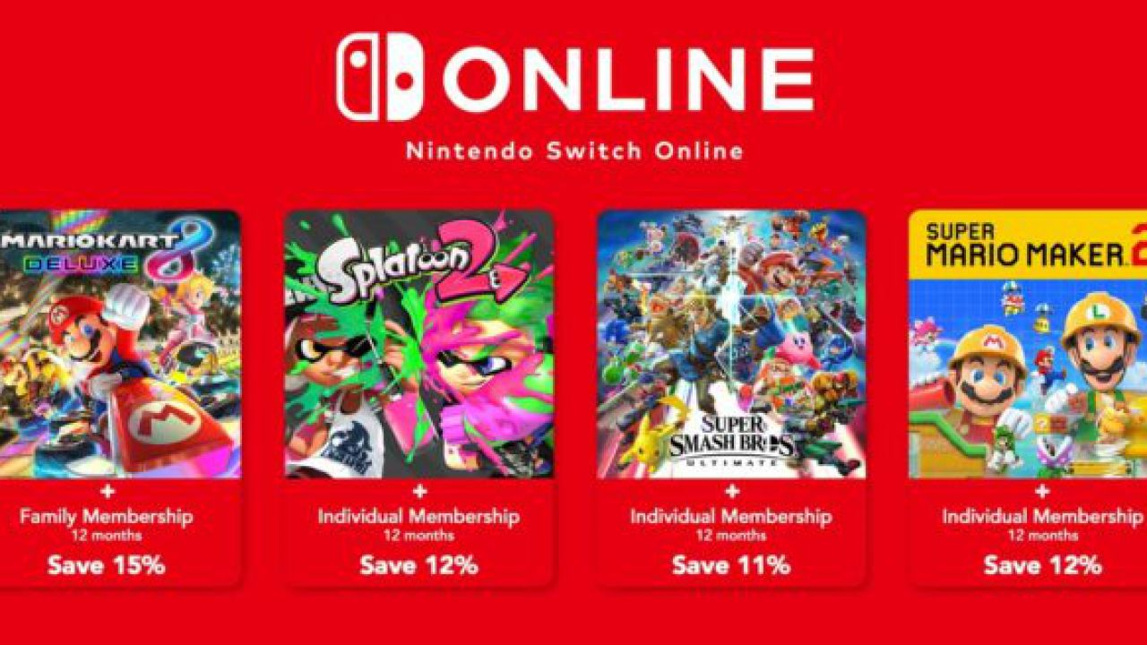 Nintendo Switch Online Bundles
