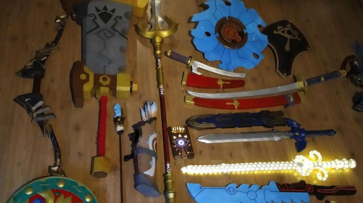 Legend of Zelda Fan made