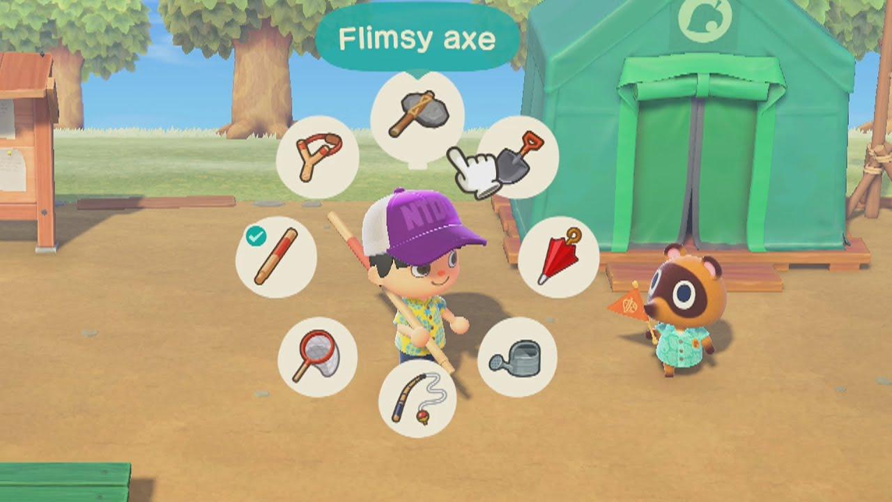 Animal Crossing Ruota Strumenti