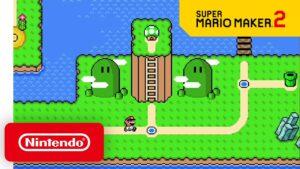 Super Mario Maker 2 aggiornamento Aprile