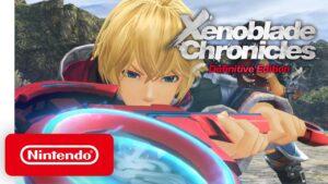 Xenoblade Chronicles Definitive edition shulk