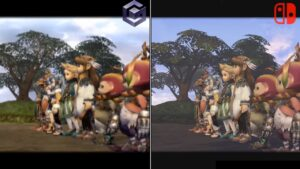 Final Fantasy Crystal Chronicles Comparison