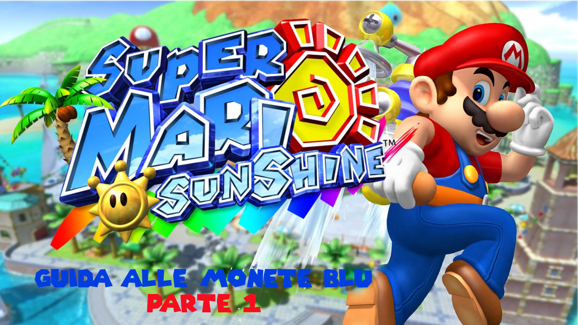Cover Mario Sunshine Guida 1
