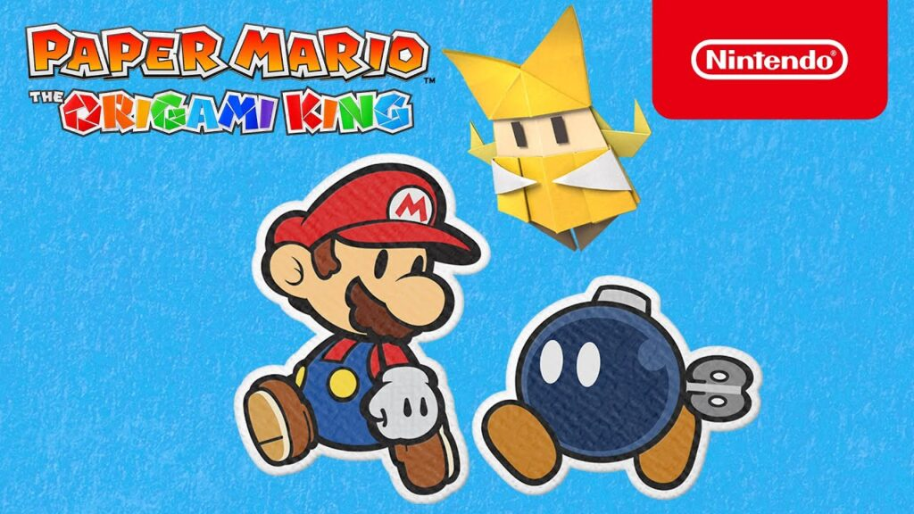 Paper Mario The Origami King EXP