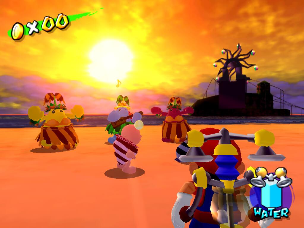 Super Mario Sunshine - Sabbie Rosse - NintendOn
