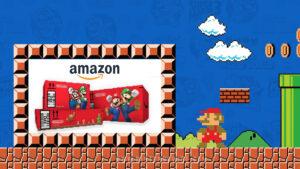 Amazon Super Mario Bros. partnership