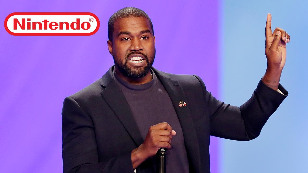 Kanye West chiese a Nintendo di collaborare per un videogioco