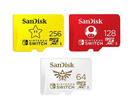 Micro SD brandizzate Nintendo