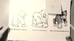Donkey Kong Country Sketches