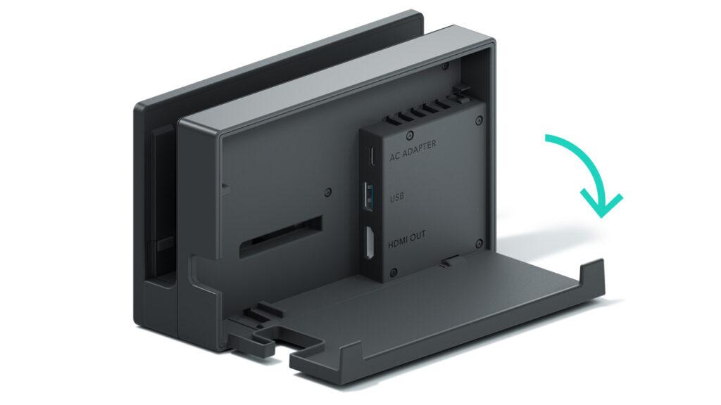 Dock Nintendo Switch retro