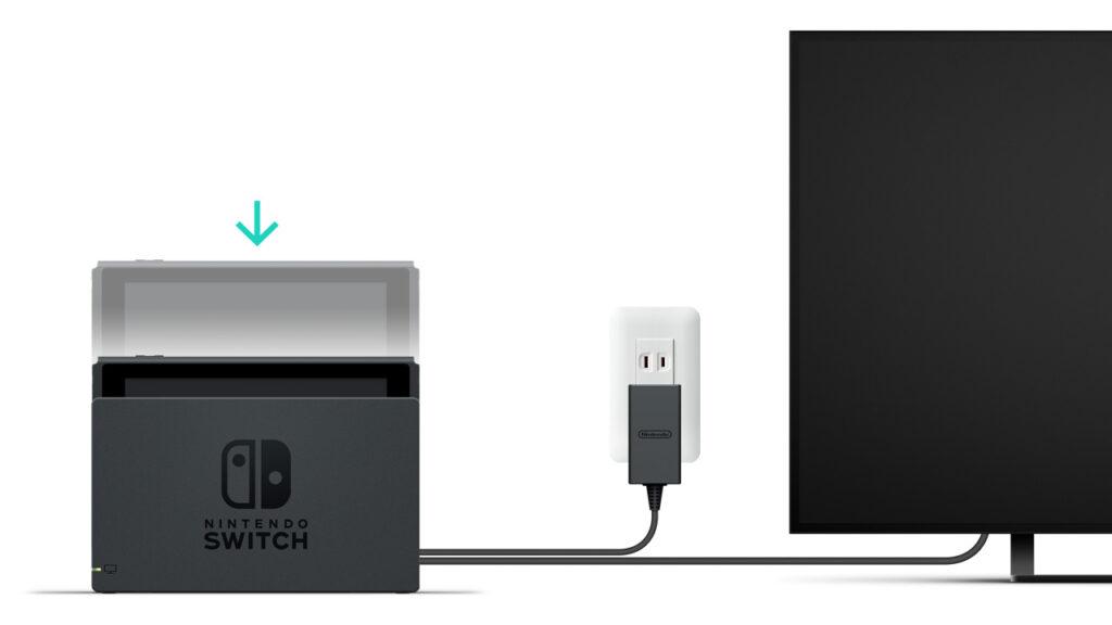 Nintendo Switch e TV