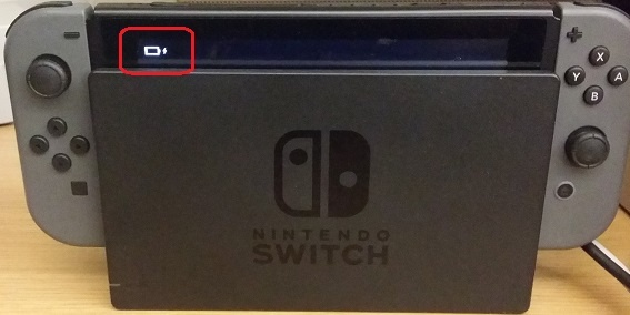 Nintendo Switch accensione