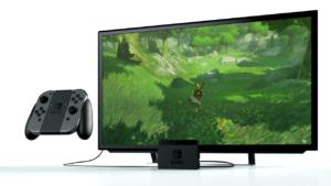Nintendo Switch collegamento TV e PC