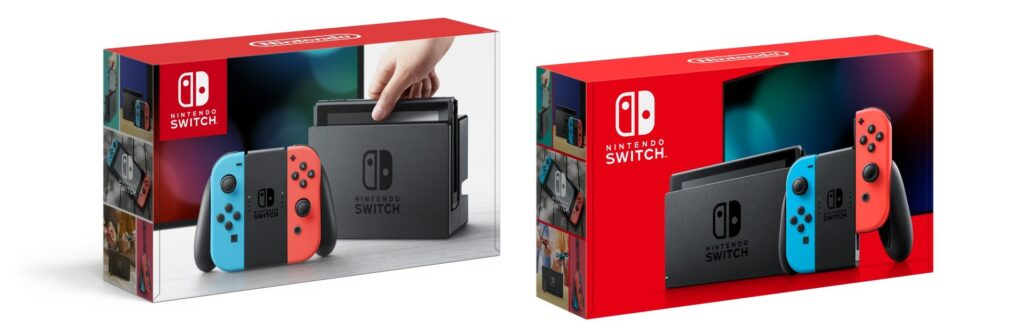 Nintendo Switch 2017 e Nintendo Switch 2019
