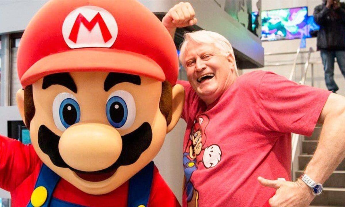 Charles Martinet Voice Mario