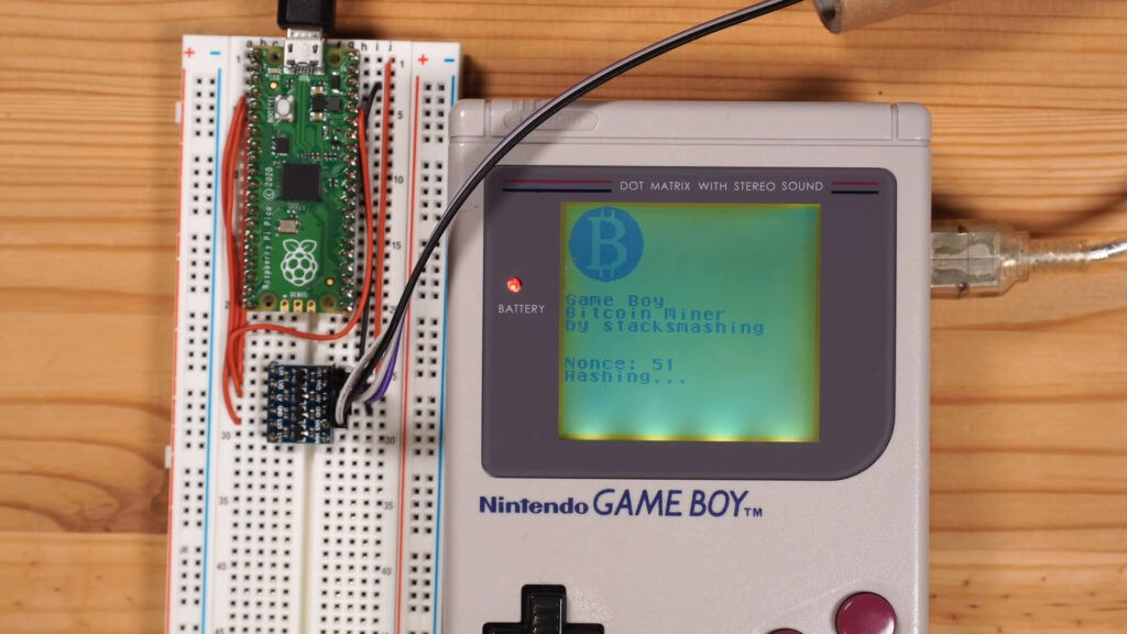 Game Boy bitcoin stacksmashing NintendOn