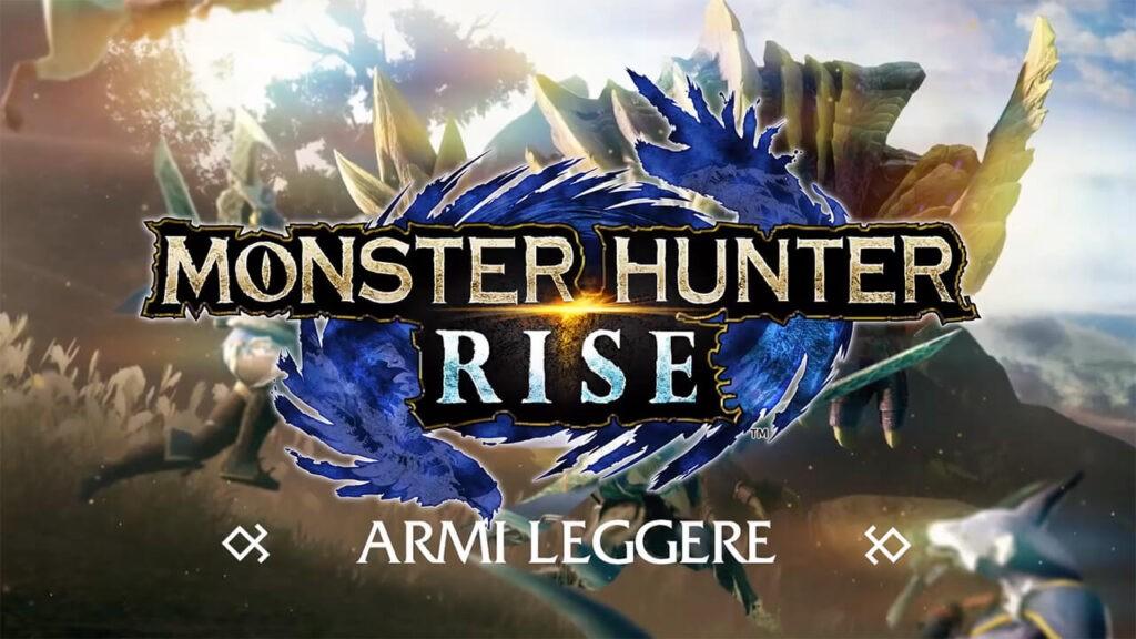 Monster Hunter Rise armi leggere NintendOn