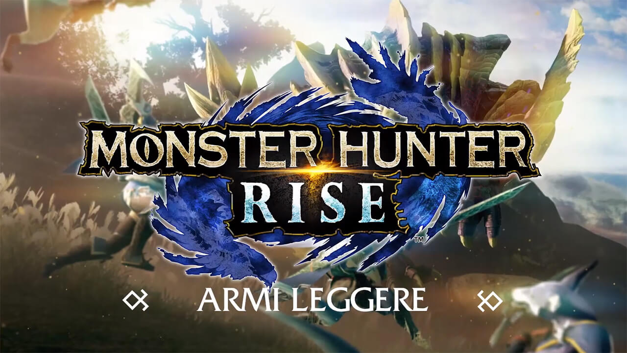 Monster Hunter Rise armi leggere NintendOn