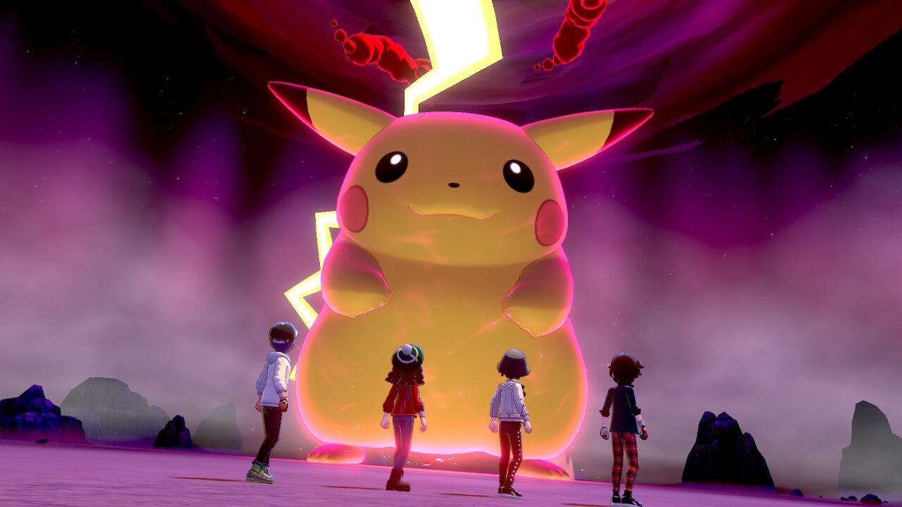 Pikachu GMax Raid NintendOn