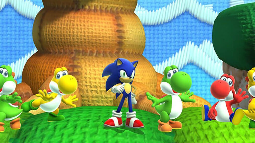 Sonic Lost World Yoshi NintendOn