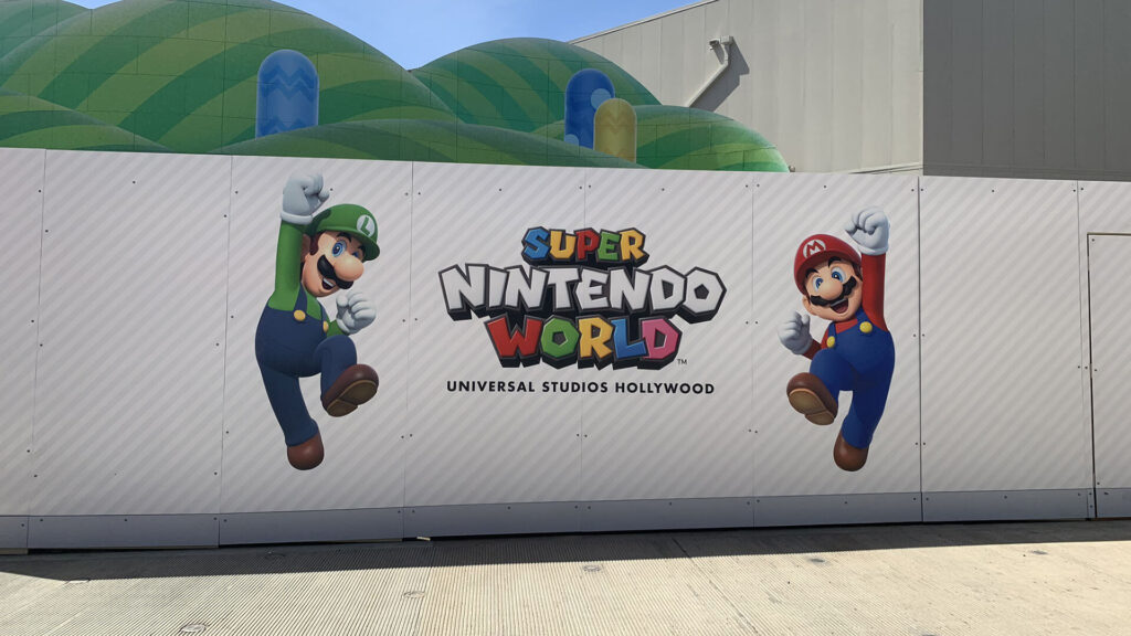 Super Nintendo World Hollywood NintendOn
