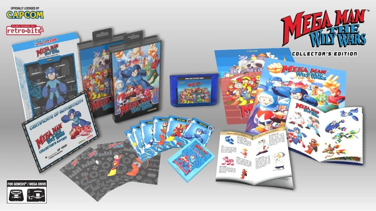 Mega Man The Wily Wars Collection