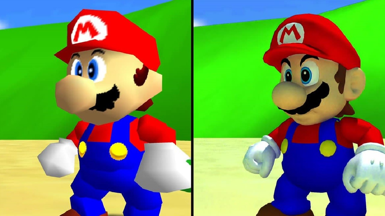 super-mario-64-ray-tracing-updated-models-comparison-NintendOn