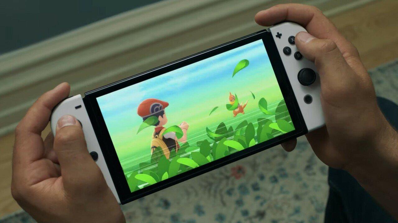 Switch OLED Pokémon image